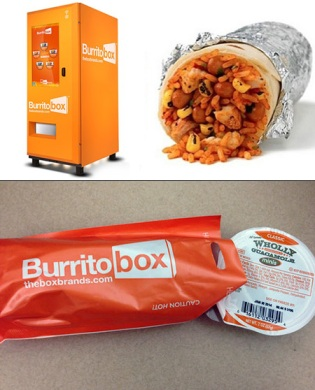 World's First Automated Burrito Kiosk | First Location: 8380 Santa Monica Blvd, West Hollywood, CA